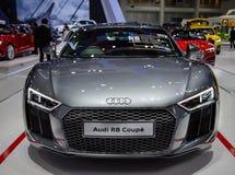 Audi R8 Coupe. Bangkok, Thailand - December 11, 2017: Audi R8 Coupe presented in Motor Expo 2017 Royalty Free Stock Photos