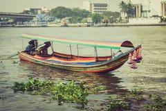 Bangkok,Thailand,December 13,2013:Boat on Chao Phraya river ,Ban Royalty Free Stock Image