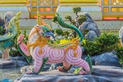 Creature sculpture, to decorate the Royal Crematorium Stock Images