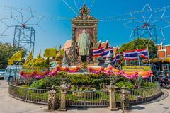 Bangkok, Thailand - December 29, de koning van 2013 van Royalty-vrije Stock Foto