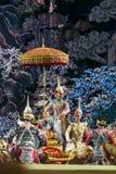 bangkok Thailand - 13 december 2015, Khon is dansdrama van Tha Royalty-vrije Stock Afbeeldingen