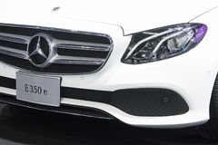 Mercedes Benz car on display at Motor Show. Bangkok-Thailand-3 December 2017: Mercedes Benz car on display at Motor Show Muangthong 2017 - The biggest motor show royalty free stock image