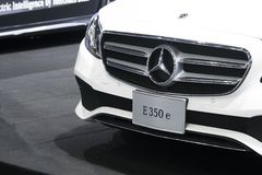 Mercedes Benz car on display at Motor Show. Bangkok-Thailand-3 December 2017: Mercedes Benz car on display at Motor Show Muangthong 2017 - The biggest motor show royalty free stock photo