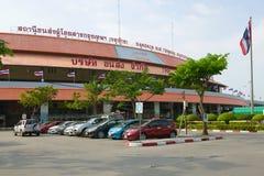 At the Northern Intercity Bus Terminal of Bangkok Mo Chit Chatuchak Terminal. BANGKOK, THAILAND - DECEMBER 14, 2018: At the Northern Intercity Bus Terminal of royalty free stock photo