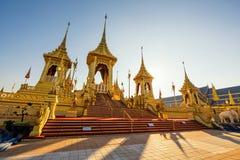 Royal Cremation of King Bhumibol. BANGKOK, THAILAND - DECEMBER 22, 2017: The Royal Cremation of His Majesty, The Late King Bhumibol Adulyadej, Rama 9, In Royalty Free Stock Photos