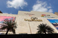 BANGKOK, THAILAND - December 7, 2017: Siam Paragon mall in Siam Square mall on in Bangkok, Thailand. royalty free stock photography