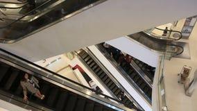 BANGKOK, THAILAND - 26 DECEMBER, 2017: Siam Paragon shopping mall stock video footage