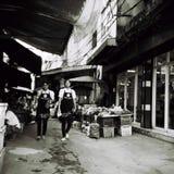 Outdoor market in bangkok stock photos