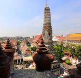 BANGKOK THAILAND - December 15, 2014: Wat Arun (tempel av gryning) Fotografering för Bildbyråer
