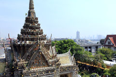 BANGKOK, THAILAND - December 15, 2014: Wat Arun (Temple of Dawn) Royalty Free Stock Photography