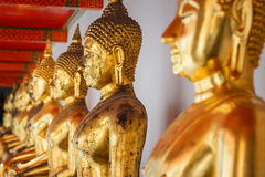 Bangkok, Thailand - December 19 2014: Wat Pho is one of the larg Stock Images