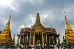 Grand Palace, Bangkok. Bangkok, Thailand - 28 December 2012. Wat Phra Kaew, Temple of the Emerald Buddha Stock Images