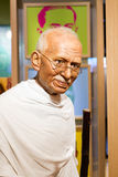 BANGKOK, THAILAND - DECEMBER 19: Wax figure of the famous Mahatm. A Ghandi from Madame Tussauds on December 19, 2015 in Bangkok, Thailand Stock Images