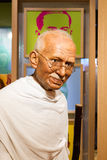BANGKOK, THAILAND - DECEMBER 19: Wax figure of the famous Mahatm. A Ghandi from Madame Tussauds on December 19, 2015 in Bangkok, Thailand Royalty Free Stock Photo