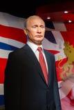 BANGKOK, THAILAND - DECEMBER 19: Wax figure of the famous Vladim Royalty Free Stock Photo