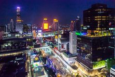 BANGKOK, THAILAND - 31. DEZEMBER 2017: Lizenzfreie Stockbilder