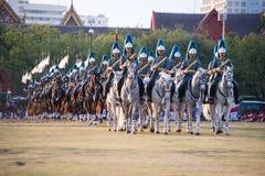 Bangkok Thailand 3. Dezember der königliche Schutz des königlichen thailändischen A Stockbilder