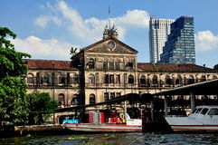 Bangkok, Thailand: East India Company Bldg. Royalty Free Stock Photos