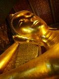 Bangkok, Thailand. The enormous statue of Buddha at Wat Pho, in Bangkok, Thailand. Travel Asia Royalty Free Stock Photography