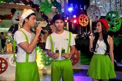 Bangkok, Thailand: Entertainers at Amarin Shopping Center Stock Image