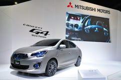BANGKOK THAILAND - FÖRDÄRVA 30: Mitsubishi G4, begrepp royaltyfri bild
