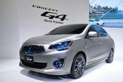 BANGKOK THAILAND - FÖRDÄRVA 30: Mitsubishi G4, begrepp arkivfoto