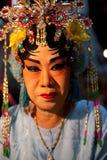 BANGKOK THAILAND - Feb1- close up face of unidentified woman mak Stock Photos