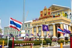 bangkok Thailand - Feb 09 2015: Ministerstwo Obrony budynek ja Obrazy Royalty Free
