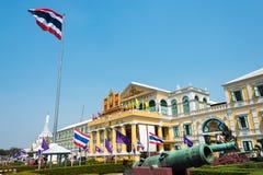 bangkok Thailand - Feb 09 2015: Ministerstwo Obrony budynek ja Obraz Stock