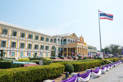 Bangkok, Thailand. - Feb 09 2015: Ministry of Defence building i Royalty Free Stock Photo