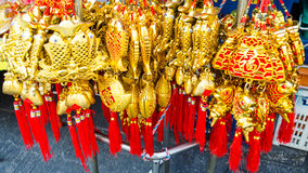 BANGKOK, THAILAND - FEBRUARI 8.2017: Chinees Gunstig Nieuwjaar Stock Afbeeldingen