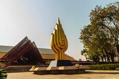 Bangkok Thailand - Februari 20, 2017: Härlig arkitektur av Fotografering för Bildbyråer