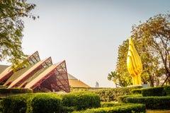 Bangkok Thailand - Februari 20, 2017: Härlig arkitektur av Royaltyfri Foto