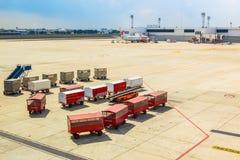 BANGKOK THAILAND - FEBRUARY 8: Airport  terminal names Don Muang Royalty Free Stock Image