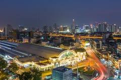 BANGKOK, THAILAND-February 5 : Bangkok central train station Hu. A Lamphong Railway Station on February 5, 2017 in Bangkok. This is the main railway station in Stock Photography