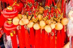 BANGKOK,THAILAND - FEBRUARY 8,2017 : Chinese New Year Auspicious Stock Photos