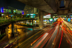 Bangkok. Thailand February 24: One of the most busiest shopping Royalty Free Stock Photography