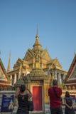 BANGKOK, THAILAND-Febuary 25, 2015 : Wat Pho, one of Thailand mo Royalty Free Stock Photo