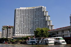 Bangkok, Thailand: Five-Star Shangri-La Hotel Royalty Free Stock Photography
