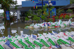 Bangkok Thailand ,flood protect Stock Photography