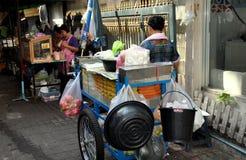 Bangkok, Thailand: Food Vendor on Sukhamvit Road Royalty Free Stock Photos