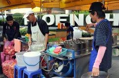 Bangkok, Thailand: Food Vendors on Sukhamvit Road Royalty Free Stock Image