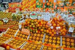 Bangkok, Thailand: Fresh Oranges at Market Stock Image