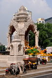 Bangkok, Thailand: Ganesha Sacred Shrine Royalty Free Stock Photography