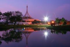 Bangkok Thailand Garden at night. Image Royalty Free Stock Photography