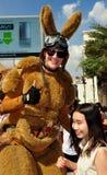Bangkok, Thailand: Giant Kangaroo at Children's Day Stock Image