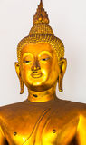 BANGKOK, THAILAND. Golden Buddha in the temple of Wat Pho Stock Photography