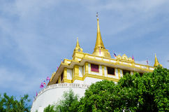 Bangkok, Thailand : Golden mountain temple Stock Photos