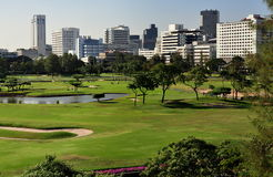 Bangkok, Thailand: Golf Course Stock Image