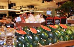 Bangkok, Thailand: Gourmet Supermarket Royalty Free Stock Photography